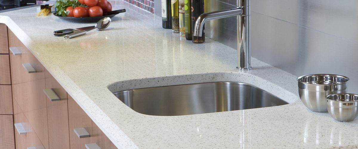recycled glass kitchen countertops cheap island | icestone ...