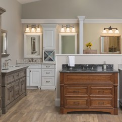 Kitchen Vanities 4 Stool Island Omega Bath Cabinets And Views Showroom Oxford Ct Bathroom At The In