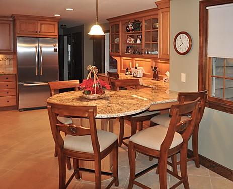 Walpole MA Kitchen Remodel Designed by Jamie Thibeault