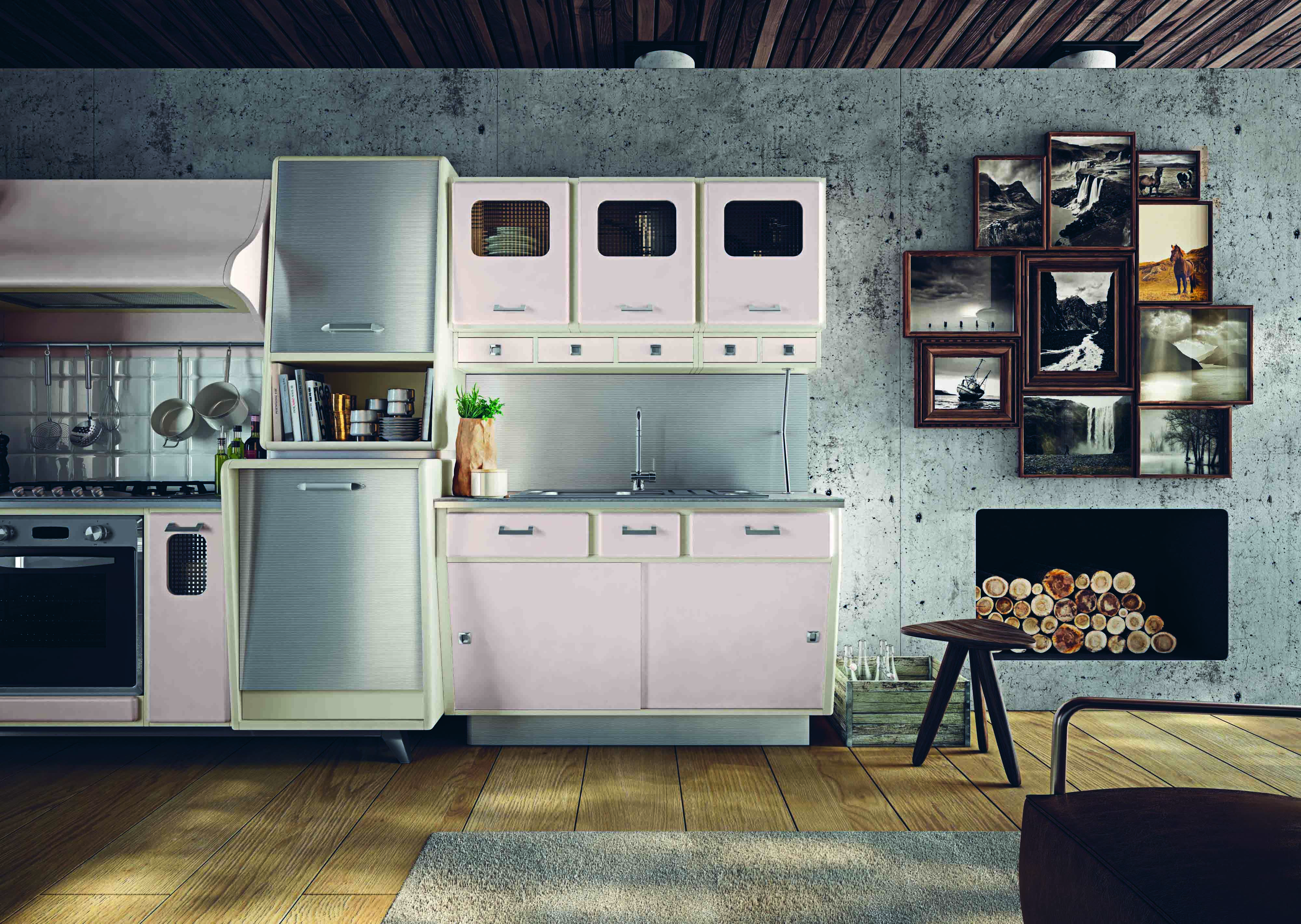 Marchi Group Kitchen Design Draws Inspiration From 1950s