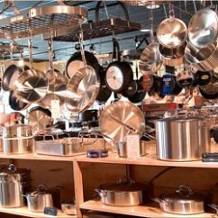 Kitchen Goods Store Inexpensive Tables Faraday S Keeps Austin Whisked Kitchenware News Photo Pots Large
