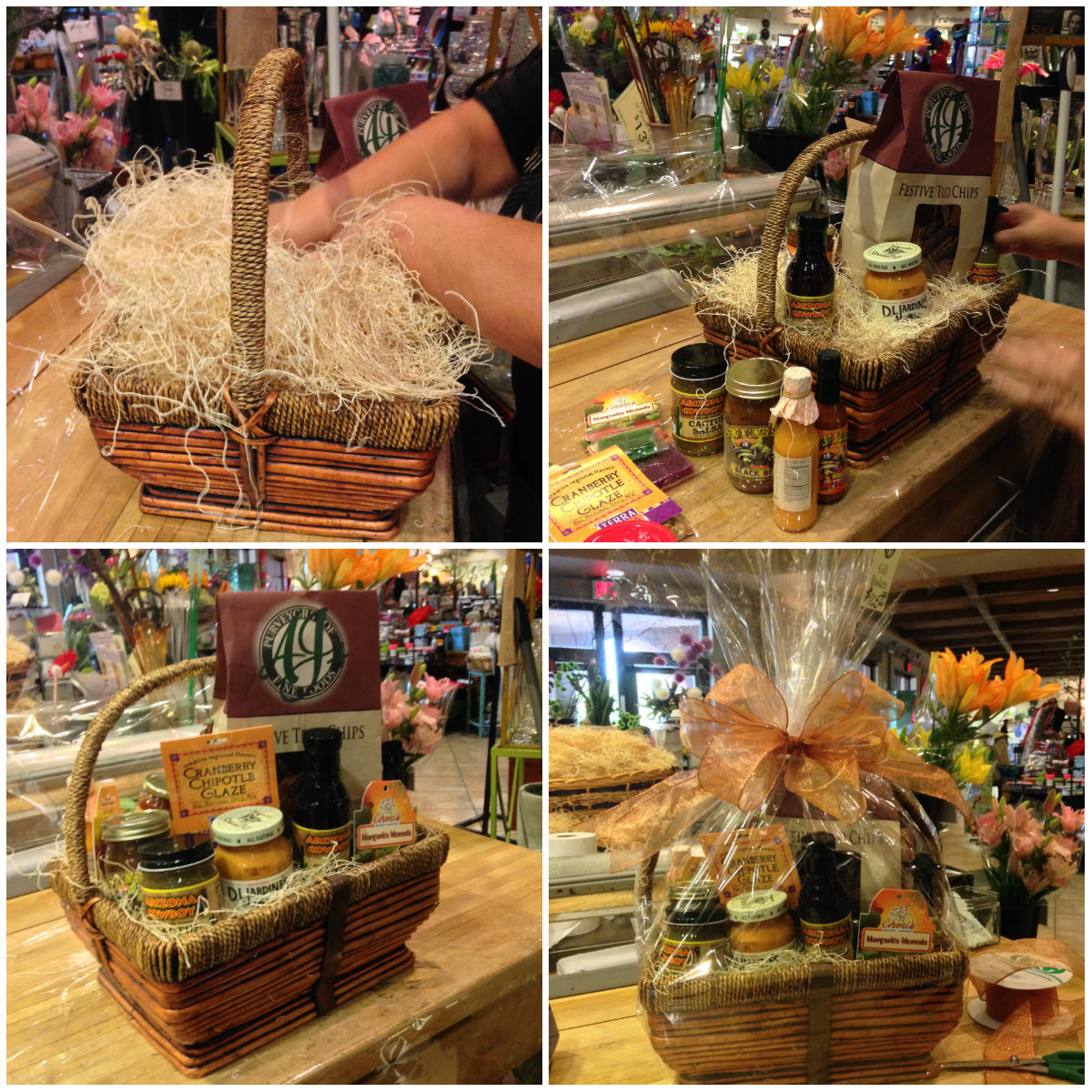 Gift Baskets From Base to Bow  Kitchenware News  Housewares ReviewKitchenware News