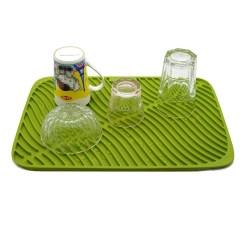 Kitchen Dish Drying Mat Craigslist Table 硅胶排水垫供应商 硅胶碟干燥垫制造 垫脚垫厂 科创配件厂家 中国厨具 耐热硅胶垫 厨房用硅胶盘干燥垫大号洗碗机