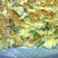طريقة عمل البيض المقلي مع البقدونس