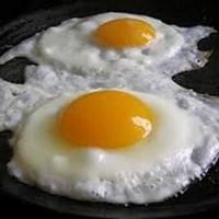 بيض مقلي بالطريقة المغربية