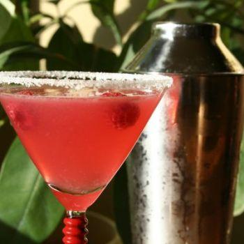 Hibiscus and Raspberry Margarita