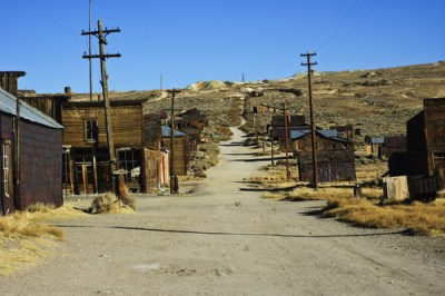 Ein kalifornischer Ghost Silver Mining Town wurde für 1,4 Millionen Dollar verkauft