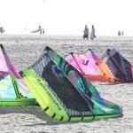 Cabrinhas Switchblade und andere Kites sind zu bestaunen