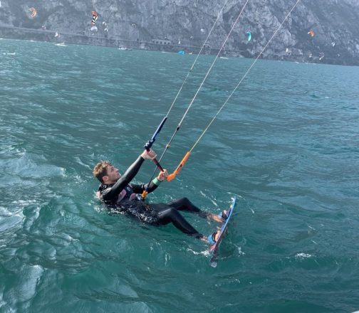 lake garda kite spot
