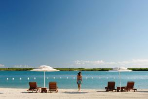 Beach Turks and Caicos Blue Haven resort kiteboarding