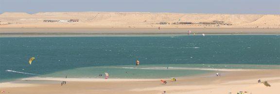 Kitesurfing Dakhla, Morocco