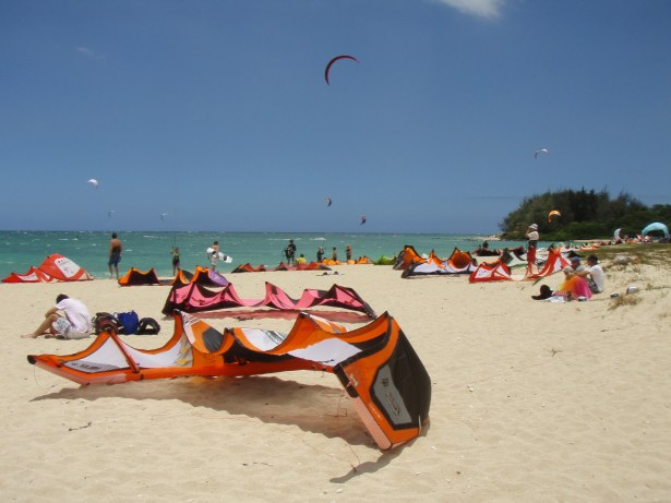 Kite Beach Set-up