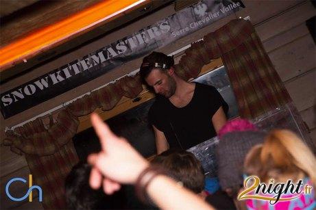 DJ at the Snowkite Masters 2015