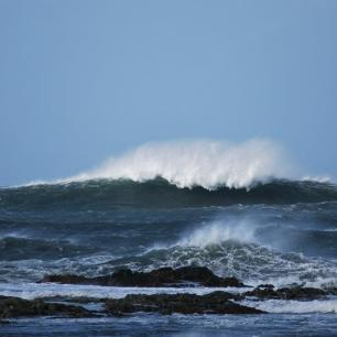 Waves in Tiree