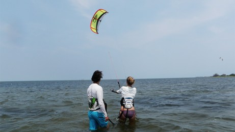 Kite Club Hatteras - Kite Lessons