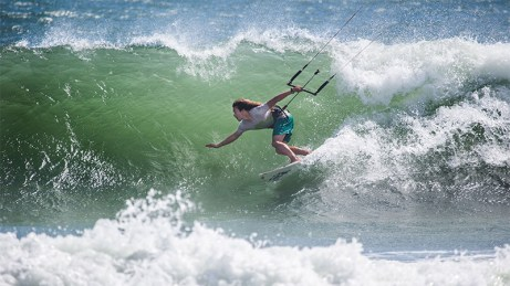 Patrick Rebstock - Ripping the coast side Hatteras