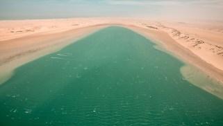 Dakhla kitesurfing lagoon in Morocco