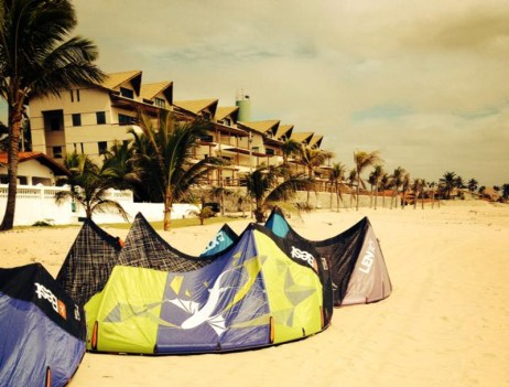 Kiteworld Kitesurfing Kiteboarding Tremembe Kite Mansion Icapui Brazil