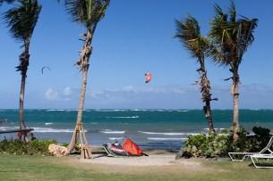 Puerto Rico Dorado beach Kiteworld travel