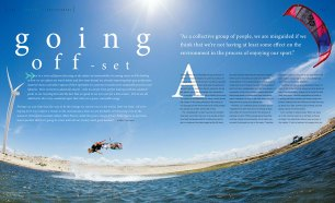 Sustainability in kiteboarding feature in Kiteworld issue #75