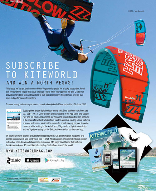 North Vegas competition in Kiteworld issue #75