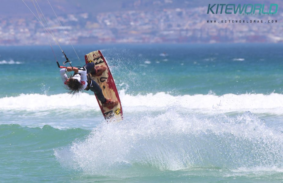 Oswald Smith South African kitesurfer