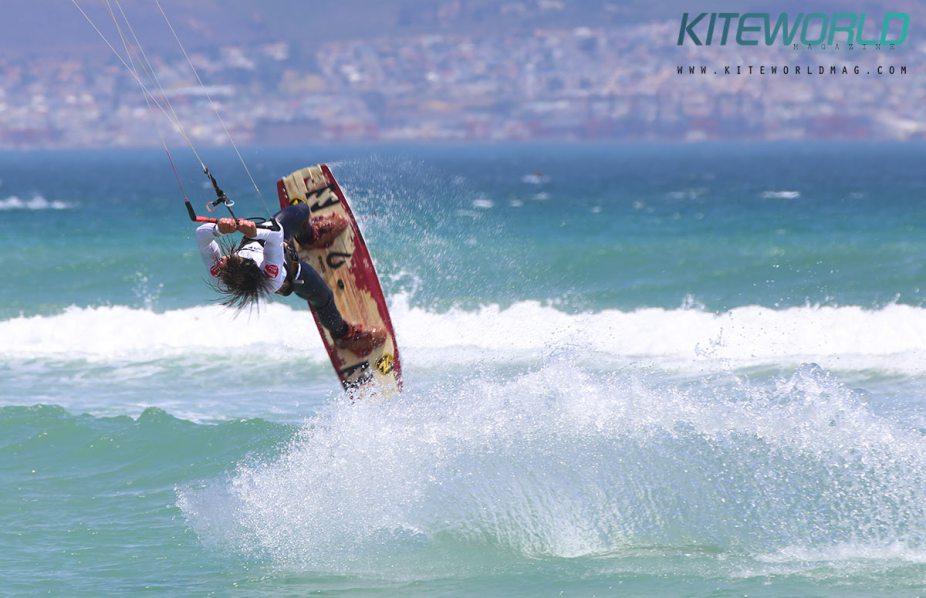 Oswald Smith South African kitesurfer
