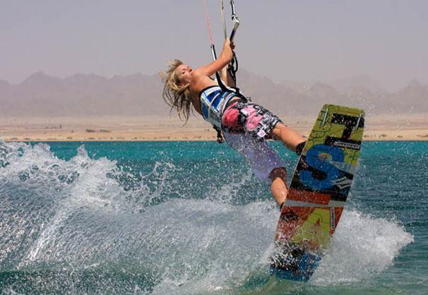 Jo Wilson - Egypt Soma Bay Kiteworld Magazine