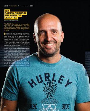 Damien Girardin Naish kites designer interview Kiteworld 82
