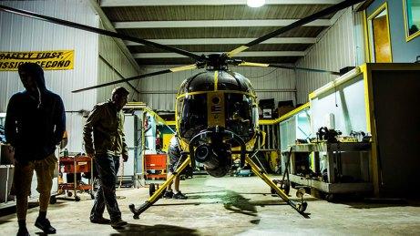 Helicopter cineflex ultra camera system Chapter One