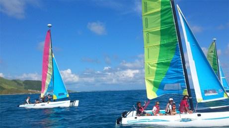 St Martin - Sailing