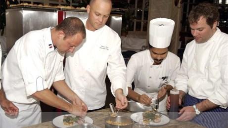 Chef's preparing - Cayman Islands