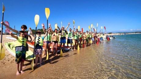Kayak excursion - MB Pro Center Porto Pollo