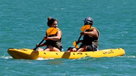 Kayaking - Langebaan, South Africa