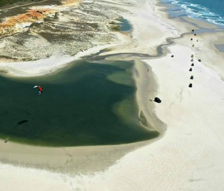 Freeride Kitesurf Urau, Brazil