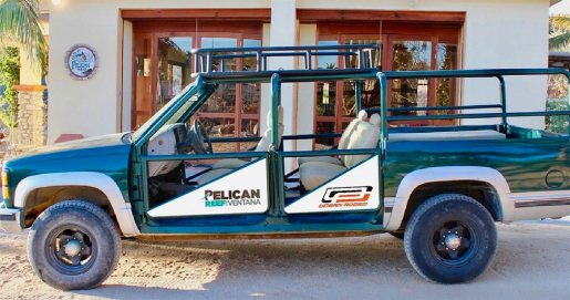 Pelican Reef Resort - Downwind shuttle