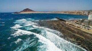 Harbour Wall, El Medano, Tenerife