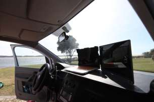 Remote working from VW Caddy