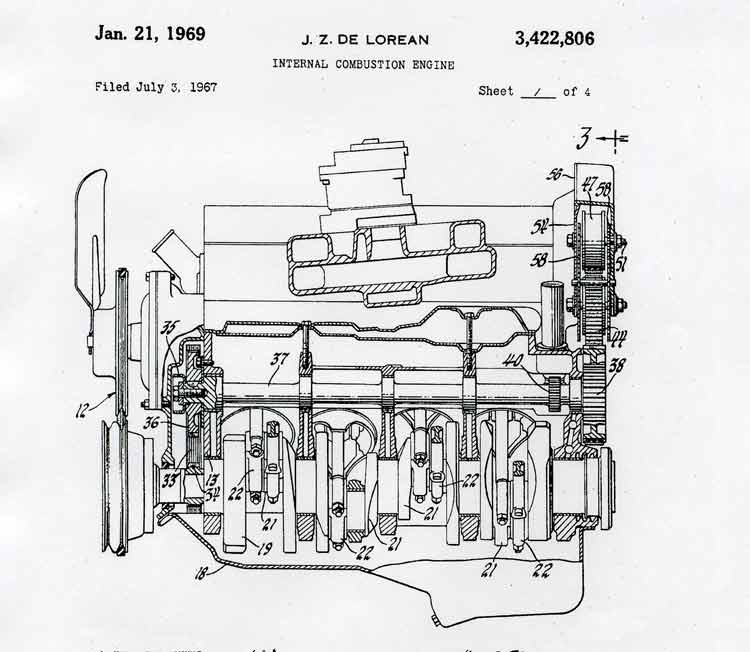 Ferrari Engine Diagram Crankcase Page 001 Engine