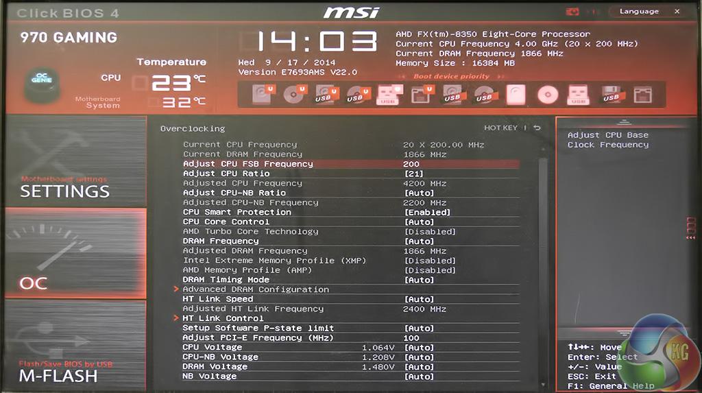 MSI 970 Gaming Motherboard Review KitGuru Part 6
