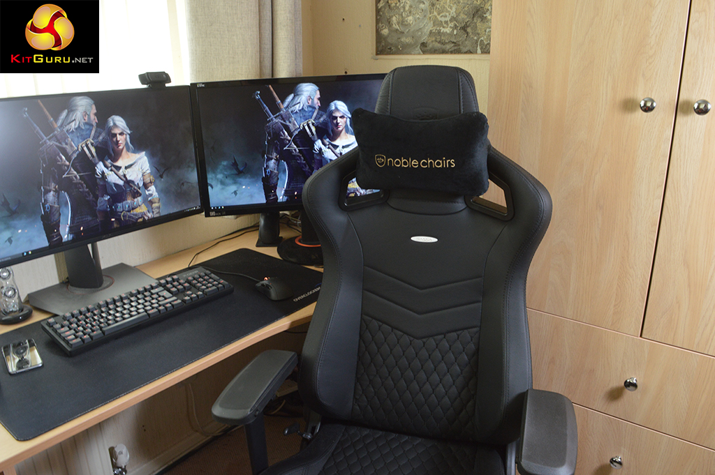 gaming chair review backpack cooler by tommy bahama noblechairs epic real leather kitguru