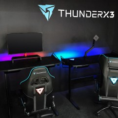 Zeus Thunder Ultimate Gaming Systems Chair Oak Office Thunderx3 39hex Rgb 39 Desks Showcased Kitguru
