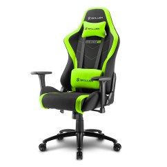 Chairs 4 Gaming Wingback Chair Sharkoon Swaps Leather With Breathable Fabric For New Affordable The Comes In A Black Design Different Coloured Highlights Including Red Blue Green And Grey Seating Height Is Always Important To Overall