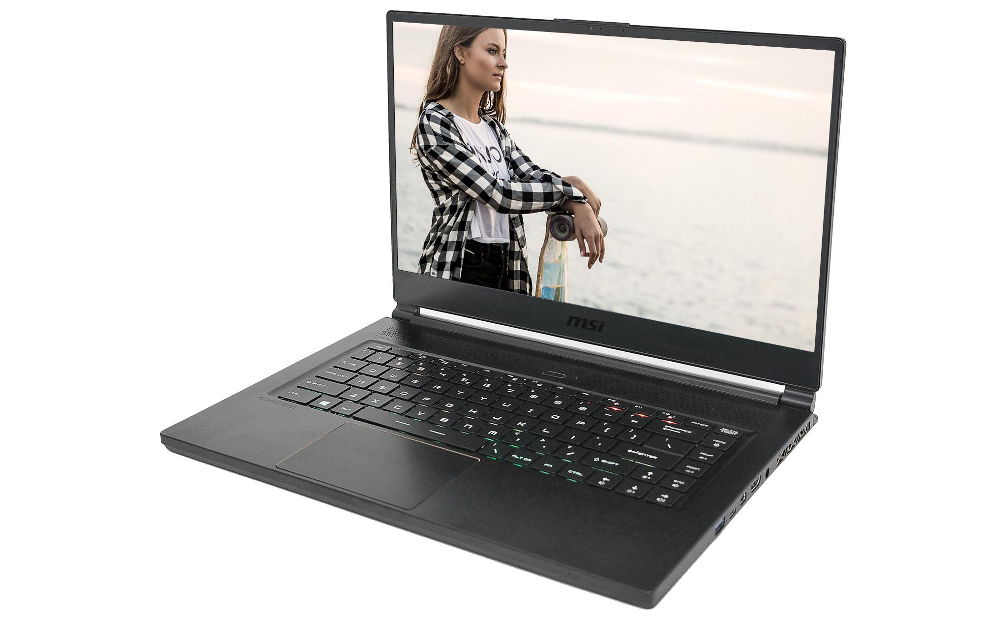 MSI GS65 6 CORE Laptop 2018 Engineering Sample FIRST LOOK!   KitGuru