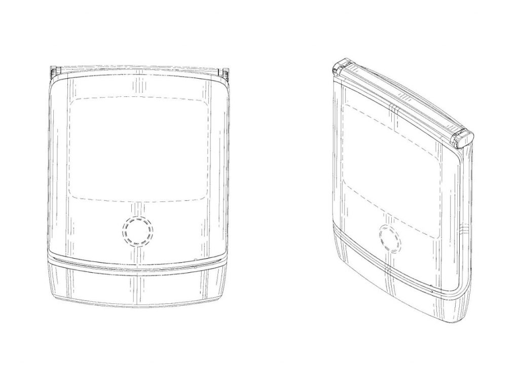New patent shows off Motorola's revived Razr complete with