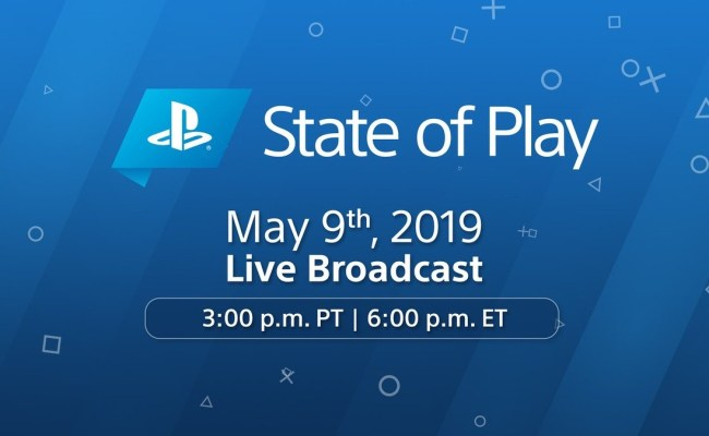 Sony Will Have A State Of Play Stream Later This Week