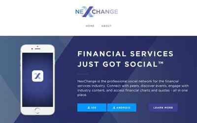 NexChange – Social Network for Finance Professionals