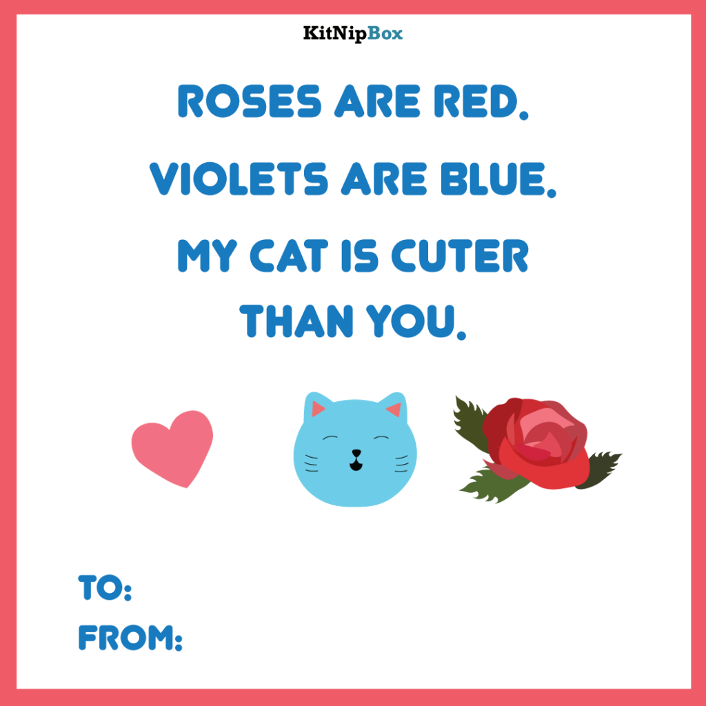 3 Cat Valentine's Day Cards For You To Send Your Sweetheart!