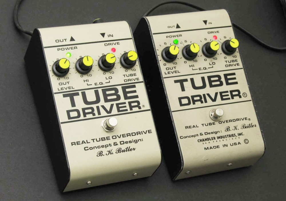 medium resolution of b k butler real tube overdrive the tube driver is a booster overdrive pedal with an ic and vacuum tube driven preamp circuit inside used by guitarists