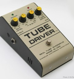 a rare original 1986 b k butler tube driver with tm after driver and no b k butler markings note the inout output jacks are on the sides rather than the  [ 2383 x 2319 Pixel ]